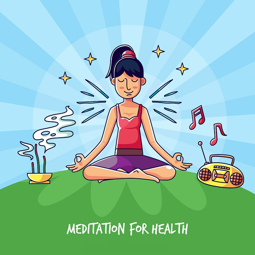 how to meditate with music